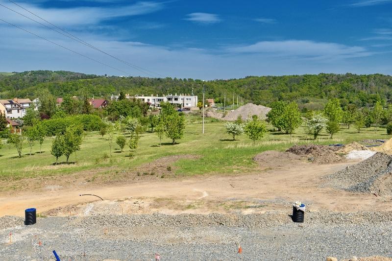 Stavební pozemek 678 m2 Kladno – Libušín