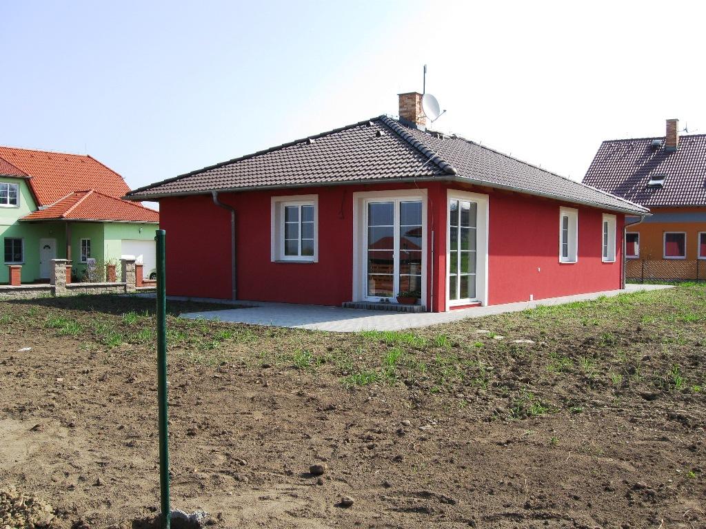 Rodinný dům 4+1+G Hostomice, přízemní novostavba před dokončením